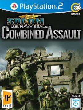 SOCOM U.S Navy Seals Combind Assault Asli PS2 1DVD5 5839