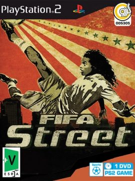 FiFA Street Asli PS2 1DVD5 5305