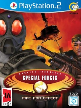 Counter Terrorist Special Forces Fine For Effects Asli PS2 1DVD5 5823