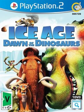 Ice Age Dawn Of the Dinosaurs Asli PS2 1DVD5 5720
