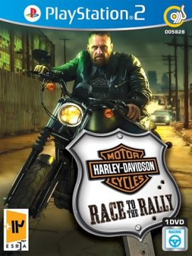 Harley-Davidson Motorcycles Race To The Rally Asli PS2 1DVD5 5828