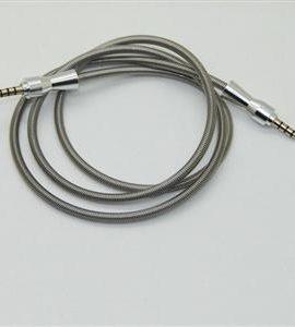 کابل AUX روکش فلزی