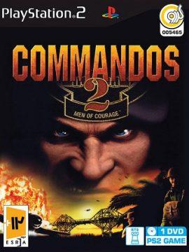 Commandos 2 Men Of Courage Asli PS2 1DVD5 5465