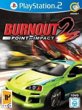 Burnout 2Point Of Impact Asli PS2 1DVD5 5821