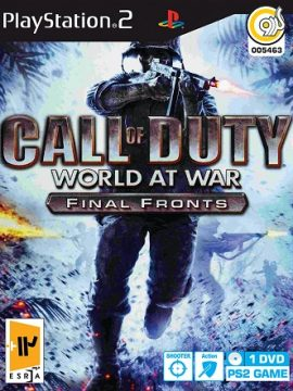 Call Of Duty World At War Asli PS2 1DVD5 5463