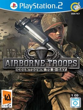 Airborne Troops Countdown To D-Day Asli PS2 1CD 5747