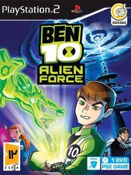 BEN 10 Alien Force Asli PS2 1DVD5 5303