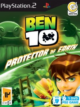 BEN 10 Protector Of Earth Asli PS2 1DVD5 5725