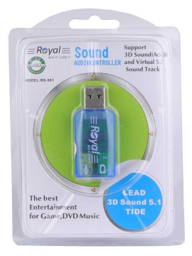 ROYAL 501 SOUND CARD