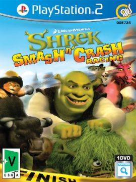 Gerdoo Shrek Smash Crash Racing Asli PS2 1DVD5