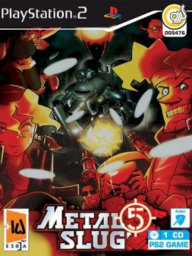 Metal SluG 5 Asli PS2 1CD 5476
