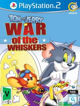 Tom and Jerry War of the Whiskers Asli PS2 1CD 5834