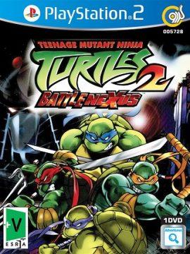 Teenage Mutant Ninja Turtles 2 Battlenexus Asli PS2 1DVD5 5728