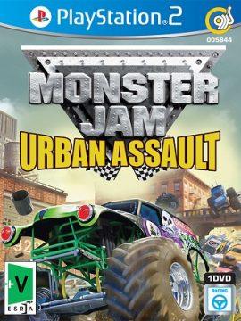 Monster Jam Urban Assault Asli PS2 1DVD5 5844