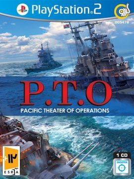 P.T.O Pacific Theater Of Operations Asli PS2 1CD 5478