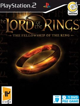 The Lord Of The Rings The Fellowship Of The Ring Asli PS2 1DVD5 5488
