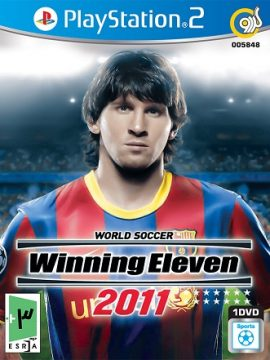 World Soccer Winning Eleven 2011 Asli PS2 1DVD5 5848